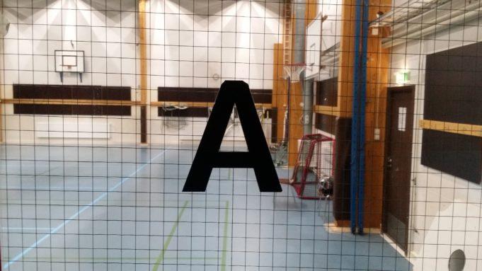 Moision liikuntahallin A-salin kuva