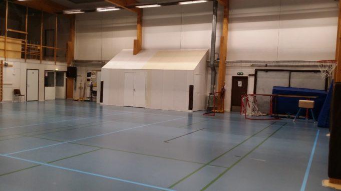 Moision liikuntahallin B-salin kuva