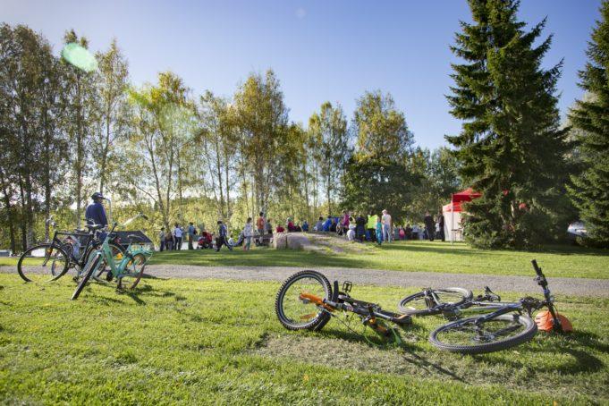 Kuva polkupyöristä
