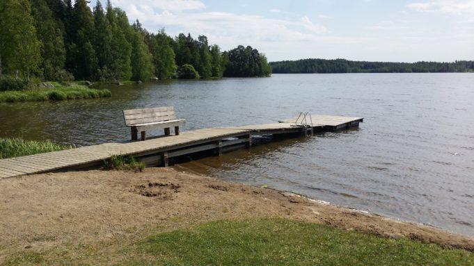 Lahdenkylän uimarannan kuva