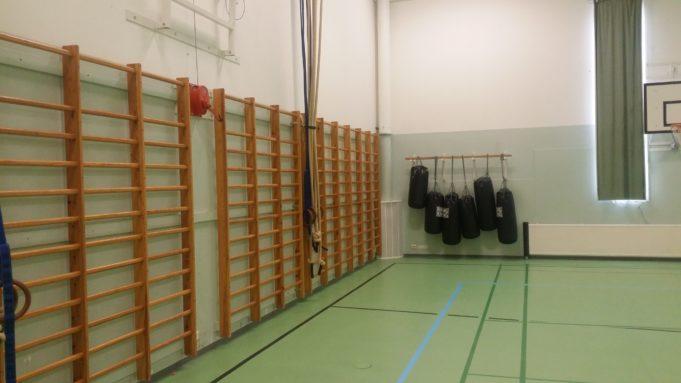 Kuokkalan koulun liikuntasalin kuva