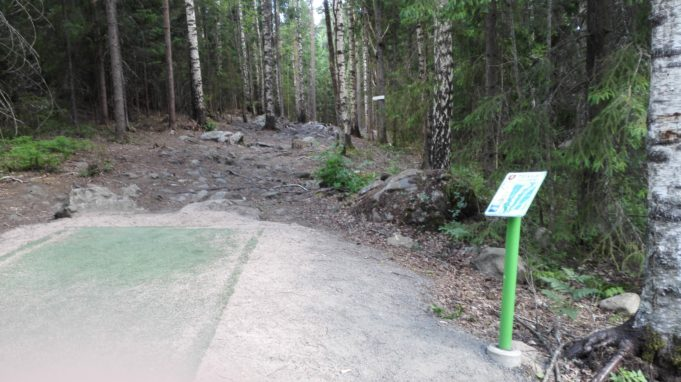 Hakkarin frisbeegolf-väylän kuva