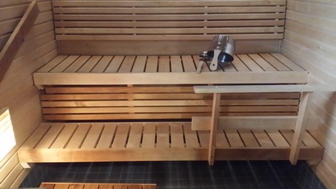 Kuva Mäyriän päätalon saunasta