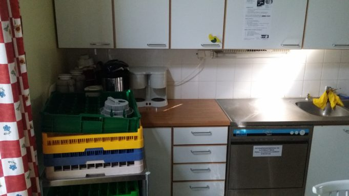 Kuva Säijän monitoimitalon keittiöstä