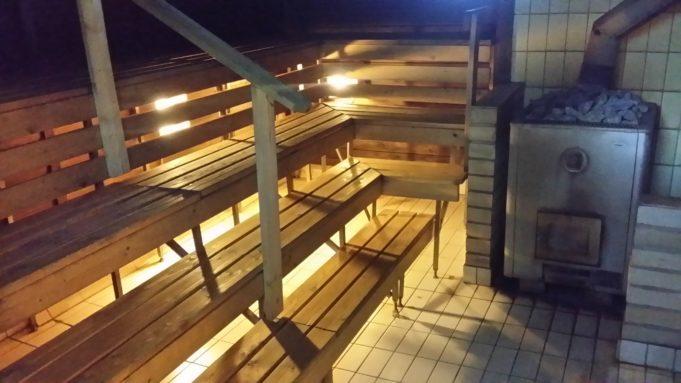 Kuva Mäyriän naisten saunasta