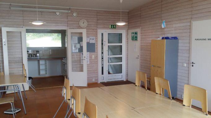 Kuva Rantalan saunan tuvasta ja keittiöstä