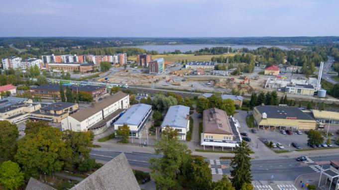 Lempäälän kuntakeskusta