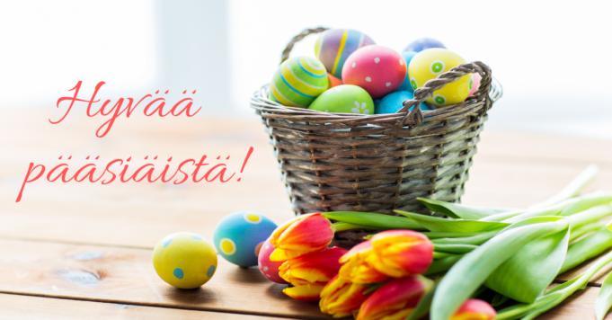 Hyvää pääsiäistä Lempäälästä
