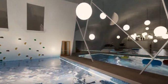 Uimahalliprojektin luonnos