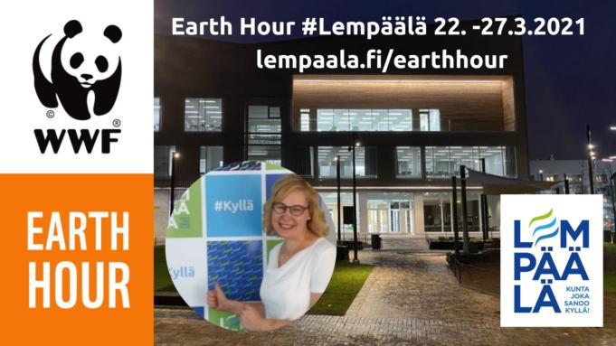 Earth Hour #Lempäälä -viikko