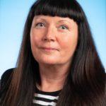 Yhsyskuntalautakunnan jäsen Sari Strömsholm.